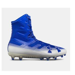 Under Armour Lax Highlight MC Cleat Blue White 13